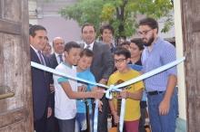 Irigoyen y Valdés inauguraron la Escuela Itinerante Popular de Arte