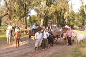 Muestra  tradicional en el locro curuzucuateño
