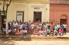 El Intendente se emocionó con una sorpresa que le dieron los alumnos del EIPA