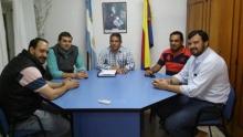 Reunión con el Rotary Club