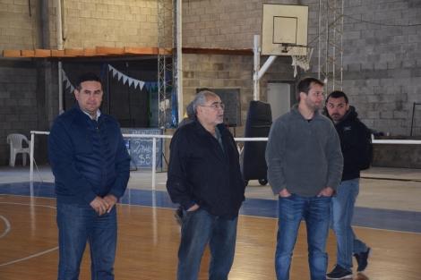 El intendente Irigoyen le deseó éxitos al equipo de San Martín en el inicio de su pretemporada