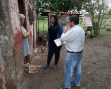 Desarrollo Social de Provincia llegó a Curuzú para asistir a damnificados