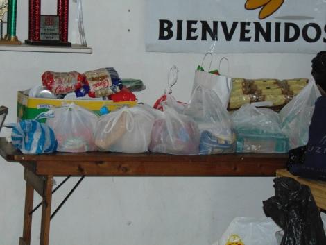 El Municipio agradece al Club San Martín y a las personas solidarias por las donaciones para los afectados por el temporal