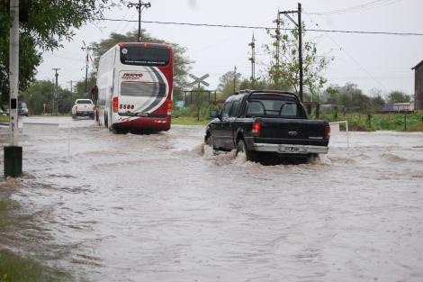 El Municipio trabaja en todos los frentes por la problemática de las lluvias