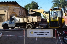 Aviso de cortes de calles por obras