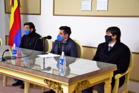 Con la presencia de referentes de la Justicia, Morandini explicó los alcances de la Resolución 255