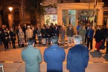 Con una vigilia y el Himno Nacional, Curuzú inició la celebración del 25 de Mayo