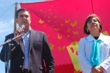 Irigoyen felicitó a la comunidad de Cazadores por los 100 años de la Escuela 572