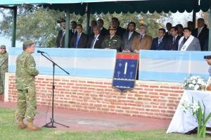 El Municipio acompañó al Ejército en su día
