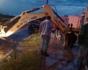 La Municipalidad concretó rápidas medidas de acción para asistir a los vecinos