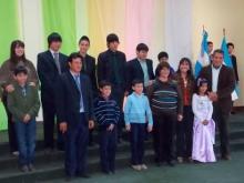 El niño Pablo Domínguez es ahijado de la Presidenta