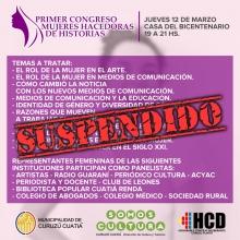 Por prevención se suspenden eventos públicos organizados por el Municipio