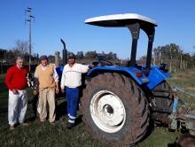 Producción del Municipio inició el Plan de Aradas de Chacras