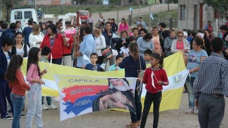 La Municipalidad acompañó las fiestas patronales en honor a Santa Rosa