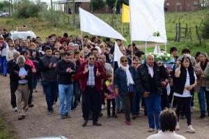 Irigoyen y su gabinete participaron de las fiestas patronales en honor a Nuestra Señora de Fátima