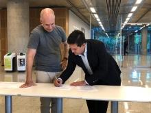 Irigoyen y Larreta firmaron un acuerdo de colaboración recíproca entre Curuzú y la Ciudad de Buenos Aires