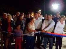Se inauguró pavimento de Juan de Vera y Monte Caseros