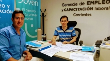 Montero se reunió en Corrientes con el gerente de Empleo y Capacitación Laboral Corrientes Adrián Ojeda y anticipó la apertura de cinco talleres de capacitación