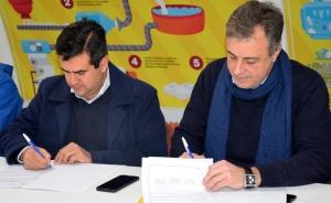 Irigoyen firmó en Rafaela un convenio que posicionará a Curuzú como ciudad modelo de tratamiento de residuos
