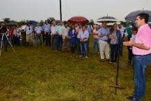 Con fuerte fervor patriótico rindieron homenaje a los mártires de la Batalla de Pago Largo