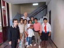 Visita de la Escuela Alberdi