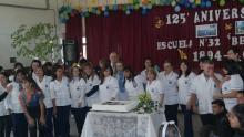 El Municipio acompañó la celebración de los 125 años de la Escuela Belgrano