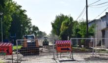 Calles cerradas al tránsito por obras