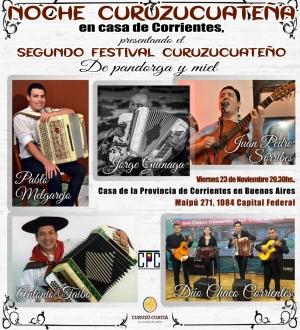 """Se lanza en Corrientes y en Buenos Aires el """"Festival De Pandorga y Miel"""""""
