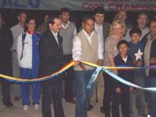 Inauguración de las veredas y circuito saludable del acceso oeste