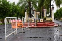 Calles cortadas al tránsito: Solicitan circular con precaución