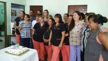 Domínguez agasajó a las enfermeras en su día