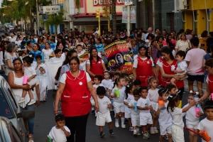 El intendente Irigoyen recibió a niños que representaron Ángeles Somos
