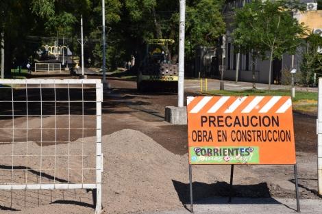 Calles cerradas al tránsito por diversas obras