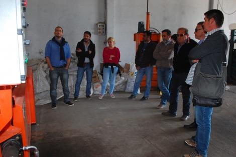 Referentes del Ministerio de Hacienda de Provincia visitaron PLAMARES