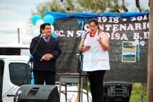 El Municipio acompañó los cien años de la Escuela Eloísa Benítez Casafus de Pairirí