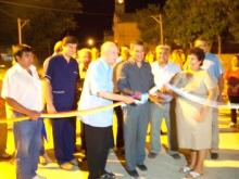Inauguración de Pavimento de  Don Bosco entre Soler  y Las Heras