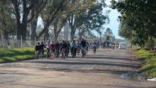 Bicicleteada en apoyo a la Selección Argentina, previo al Campeonato Mundial de Fútbol