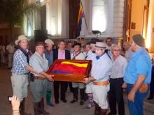 Partió la Bandera curuzucuateña a Rosario