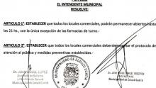El Municipio de Curuzú dio a conocer sus primeras medidas respecto al estado de aislamiento