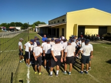 Acompañamiento de Deportes del Municipio a la Escuela de Suboficiales de Policía