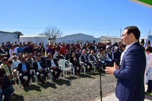El Intendente José Irigoyen acompañó al Gobernador en la inauguración del CAPS de Cazadores Correntinos