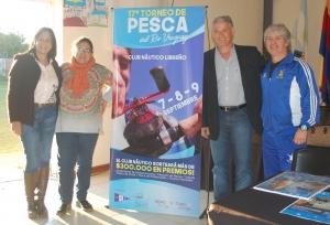 Se presentó en Curuzú la 17° Edición de Pesca del Río Uruguay