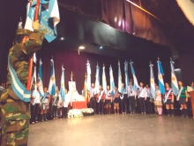 Acto por el 162º Aniversario del fallecimiento del  Gral. José de San Martín