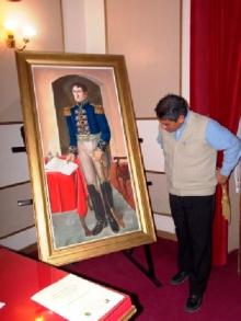 El cuadro de Belgrano será mostrado en Posadas