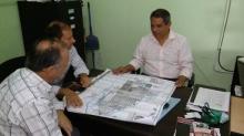 Domínguez se reunió con el Defensor del Pueblo