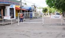 Cierre de calles por obras en otras partes de la ciudad