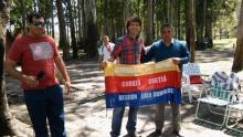 Entrega de bandera de Curuzú Cuatiá