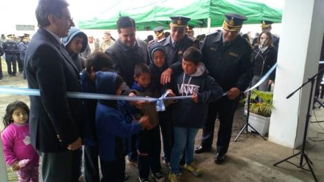 Inauguran nuevo destacamento policial en Curuzú Cuatiá