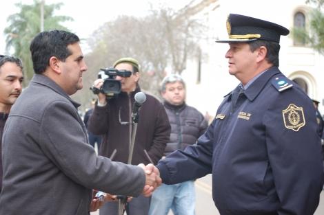 El Municipio acompañó el acto de ascenso de personal policial de la URIII
