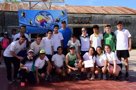 Con apoyo municipal se concretó la cuarta maratón posta de la amistad
